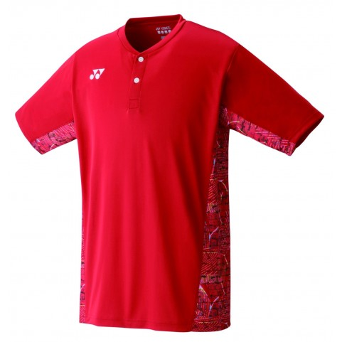 Yonex 10232 Mens Crew Neck Shirt (Red)