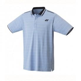 Yonex 10280EX Men's Game Shirt [Sax Blue]
