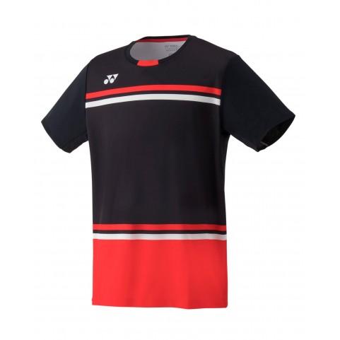 Yonex 10287EX Men's Game Shirt [Black]