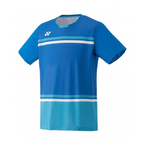 Yonex 10287EX Men's Game Shirt [Blue]