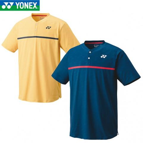 Yonex 10326 Men's French Open Crew Neck Shirt [Indigo Blue]