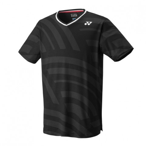 Yonex 10328 Men's US Open Crew Neck Shirt [Black]