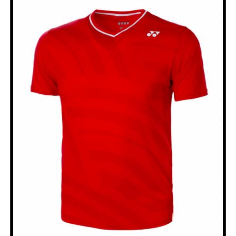 Yonex 10328 Men's US Open Crew Neck Shirt [Red]