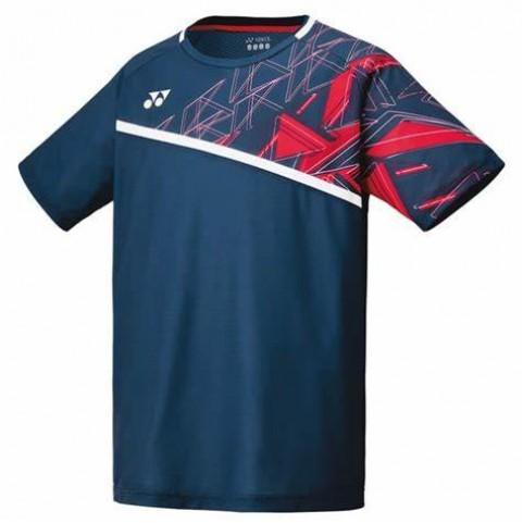 Yonex 10335 Men's Crew Neck Shirt [Indigo Blue]