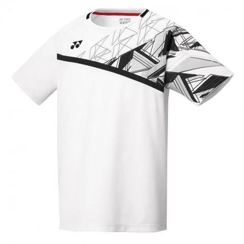 Yonex 10335 Men's Crew Neck Shirt [White]