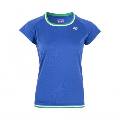 Yonex 16441EX Women's Game Shirt [Dark Blue]