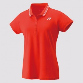Yonex 20454EX Women's Game Shirt [Red]