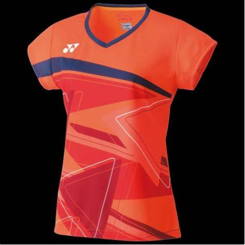 Yonex 20521EX Women's Game Shirt [Flash Orange]