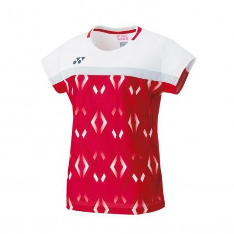 Yonex 20528EX Women's Game Shirt [Red]