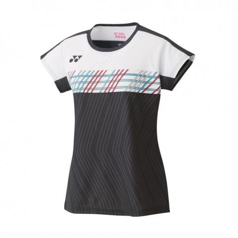 Yonex 20529EX Women's Game Shirt [Black]