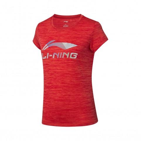 Li-Ning Women's Badminton T-shirt AHSP352-2 (Red)