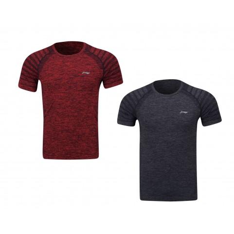Li-Ning Men's Training Series Badminton T-shirt ATSP145-1 (Red)