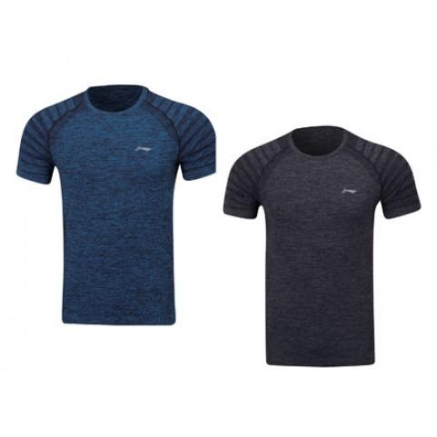 Li-Ning Men's Training Series Badminton T-shirt ATSP145 (Black)