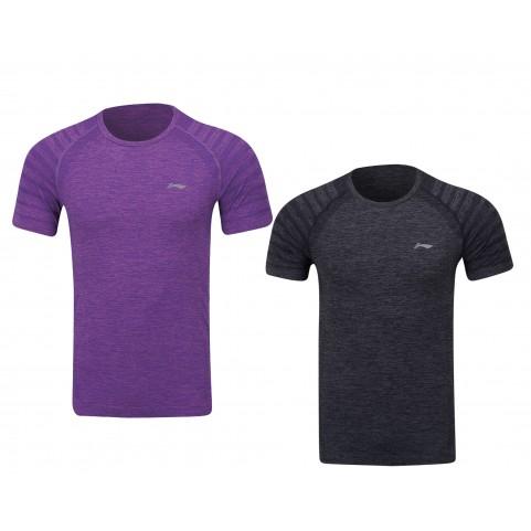 Li-Ning Men's Training Series Badminton T-shirt ATSP145-5 (Purple)