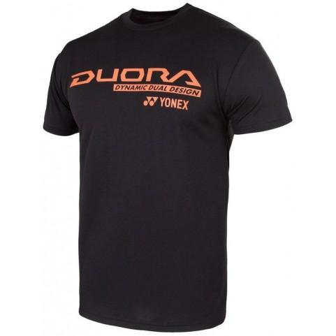 Yonex 16268 Duora Black T-shirt [Black]