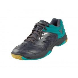 Victor A630 HR Unisex Court Shoes [Grey/Blue]