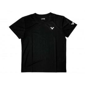 Victor AT-7004C Logo Team Shirt [Black]