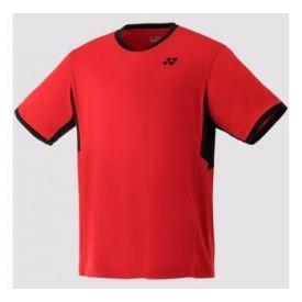 Yonex YJ0010 Junior Crew New Shirt [Sunshine Red]
