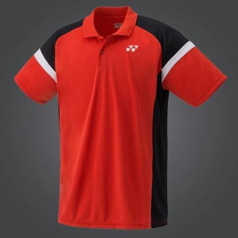 Yonex YM0002EX Men's Team Polo Shirt [Sunset Red]