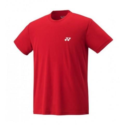Yonex Plain T-Shirt [Red]