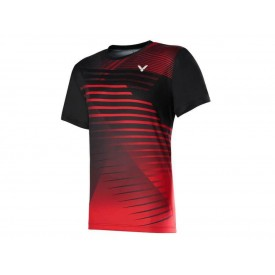 Victor T-00001TD C MALAYSIAN NATIONAL TEAM SHIRT [Black/Red]