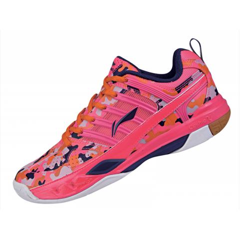 Lining Women's Badminton Shoes [PINK] AYAK018-9