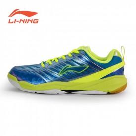 LI-NING Men's Badminton Shoes - Green [AYZK003-4]
