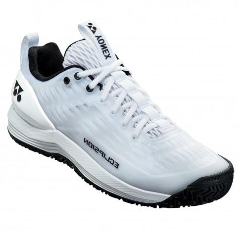75TH Power Cushion Eclipsion 3 Man Tennis Shoes [White]