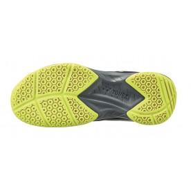 2021 Yonex Power Cushion SHB37W Wide Court Shoes [Navy/Yellow]