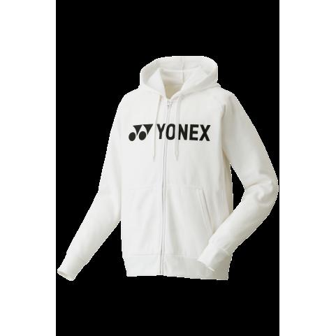 Yonex Full-Zip Hoodie YM0018 [White]